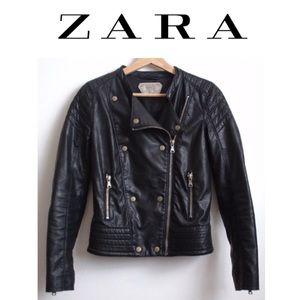 Zara Trafaluc Faux Leather Motorcycle Jackets
